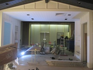 Commercial wallpaper installation - Indooroopilly Shopping Centre