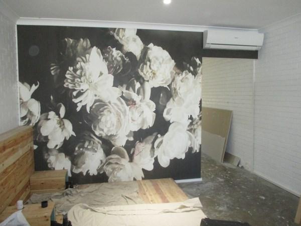 Wallpaper hanging hair salon Gold Coast