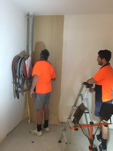 commercial wallpaper job Brisbane