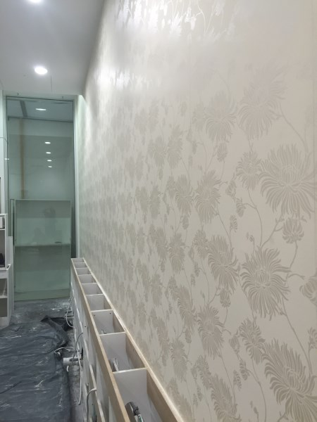 wallpaper installation completed