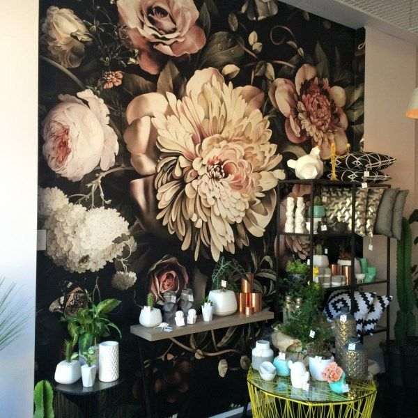 Ellie Cashman Wall Mural for a florist shop in Fortitude Valley