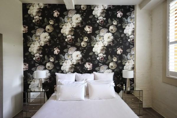 Teneriffe Brisbane Wallpaper installation using Ellie Cashman wallpaper